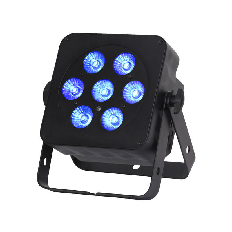 Slimline 7Q5 RGBW LED Uplighter Hire