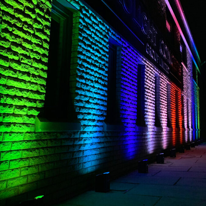 wireless up lighting hire london