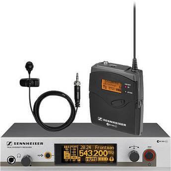 Sennheiser G3 300 Lapel Radio Microphone Hire