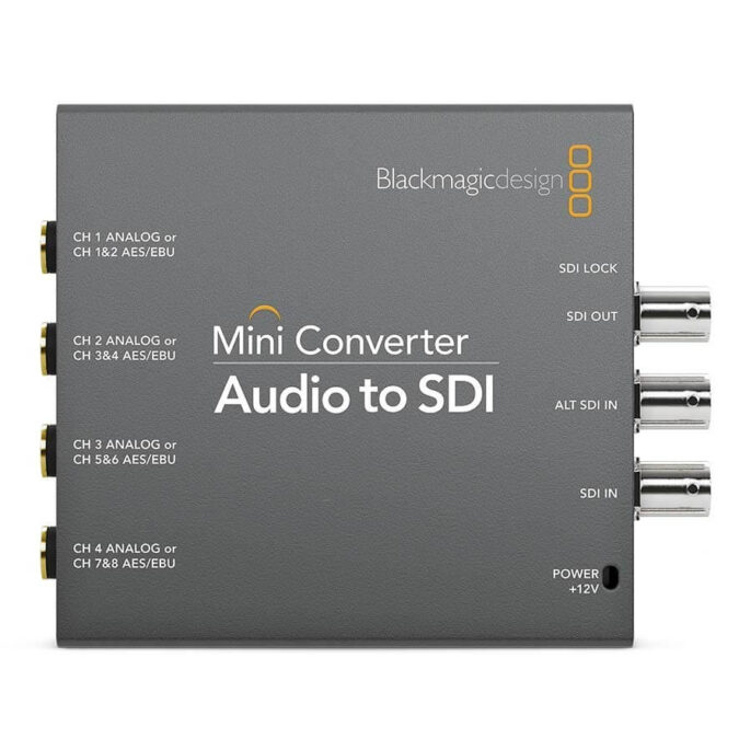 Blackmagic Design Mini Converter - Audio to SDI