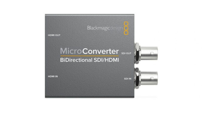 Blackmagic Design Micro Bidirectional SDI/HDMI Converter Hire