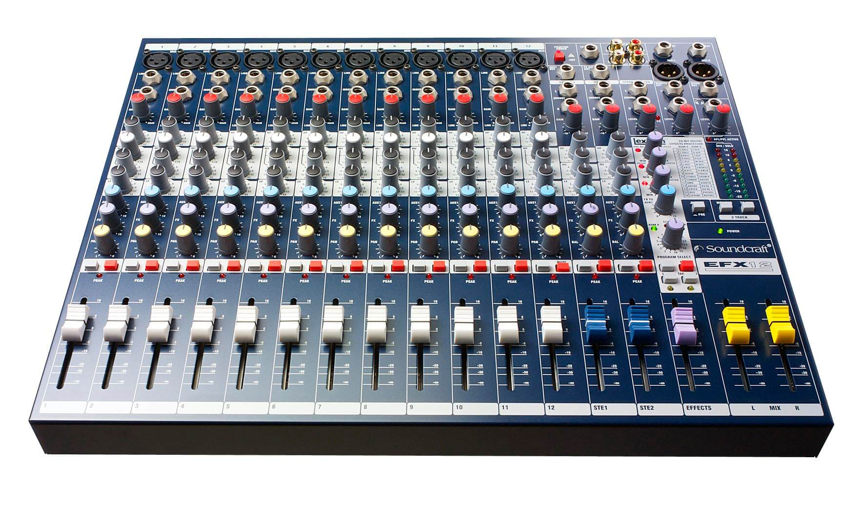 Soundcraft EFX12 Mixing Desk Hire