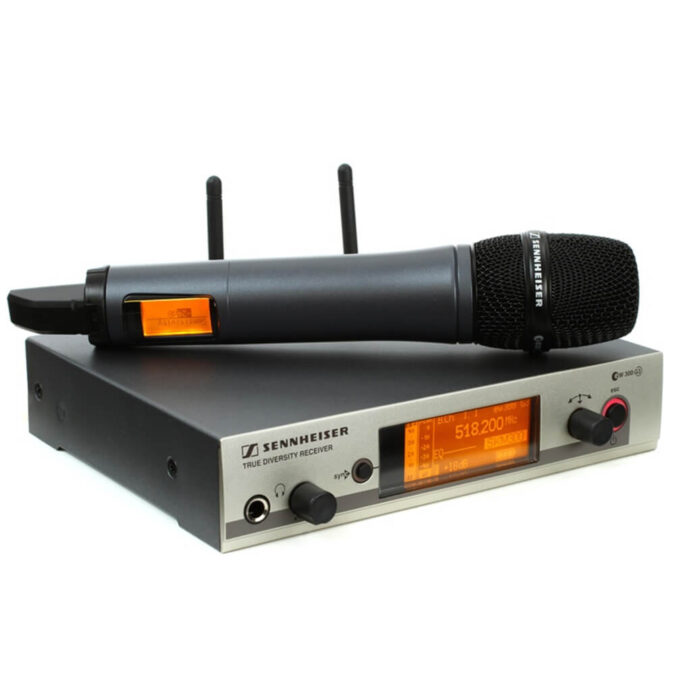 Sennheiser G3 300 Handheld Radio Microphone Hire