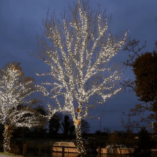 cool white fairy light hire london