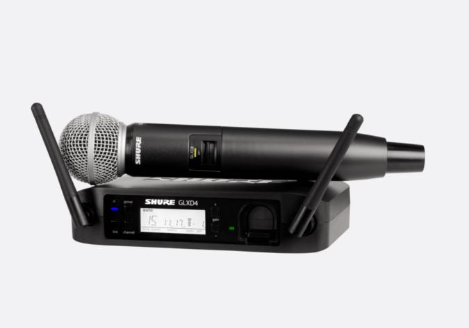 Shure GLXD24 Radio Microphone Hire