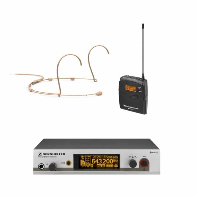 Sennheiser G3 300 Headset Radio Microphone Hire