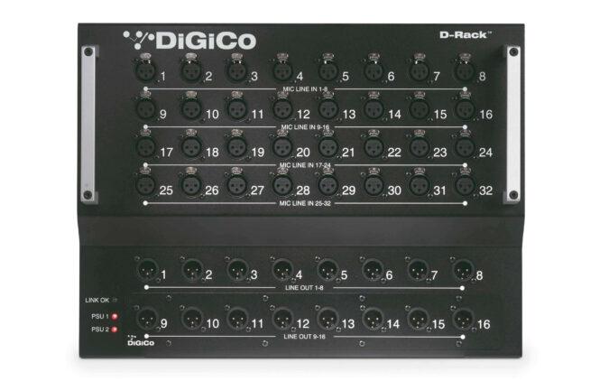 Digico D Rack Hire