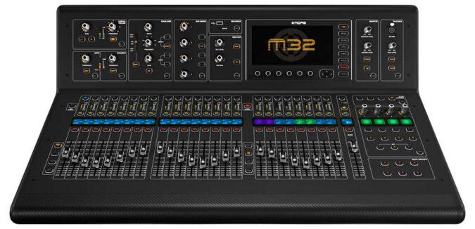 m32 midas sound desk hire