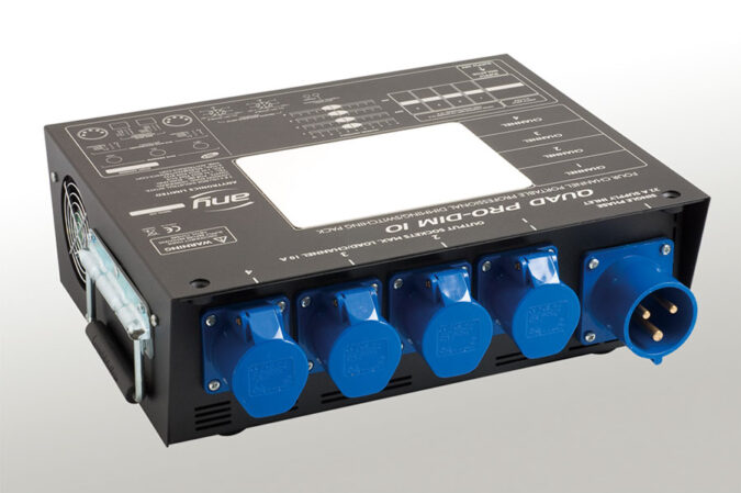 4 channel dimmer hire