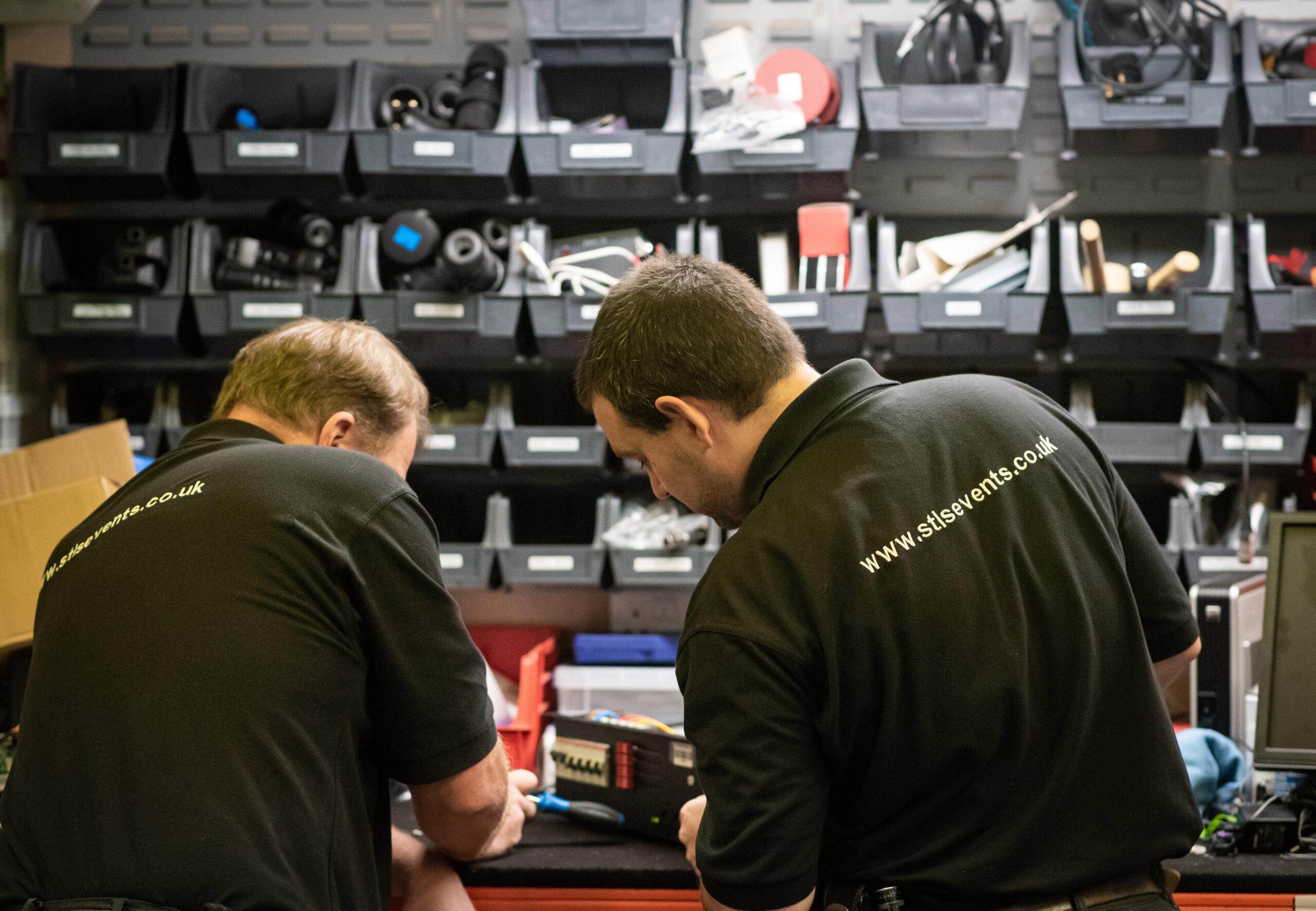 Sound equipment repair